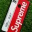 TPU ลายเส้นนูน superme สีขาว/แดง Oppo F5 thumbnail 4