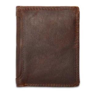 กระเป๋าสตางค์ ผู้ชาย หนังแท้ รุ่น Ven Leather Brown