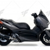 ท่อ ARROW SLIP-ON DARK-BLACK FOR YAMAHA XMAX300