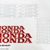 สติ๊กเกอร์ขอบล้อใน สีแดง ขาว FOR HONDA CBR650F