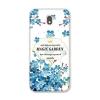 เคสซัมซุง j7 pro วัสดุtpuนิ่มลายดอกไม้สีฟ้าสวยๆ