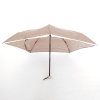 99G Lightweight Little Flower Air Folding Umbrella ร่มพับ น้ำหนักเบา ดอกไม้ - น้ำตาล