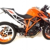 ท่อ AUSTIN RACING GP1R SILVER TIP WITH TITANIUM CAN BELLY EXIT DECAT FOR KTM SUPERDUKE 1290