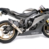 ท่อ AUSTIN RACING GP1R BLACK TIP WITH CARBON CAN DECAT FOR YAMAHA R6 (2006)
