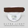 Ultra Light ร่มพับเคลือบดำ น้ำหนักเบาเป็นพิเศษ - น้ำตาล