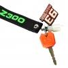 ซิลิโคนหุ้มกุญแจ KAWASAKI สีส้ม FOR Z300 NINJA300