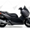 ท่อ ARROW SLIP-ON ALUMINIUM-BLACK FOR YAMAHA XMAX300