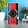 เคส huawei p20 pro ลายกล้องคอมแพคสีแดง วัสดุtpuนิ่ม