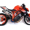 ท่อ AUSTIN RACING GP1R BLACK TIP WITH CARBON CAN HI SLUNG DECAT FOR KTM SUPERDUKE 1290