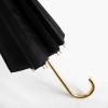 16 Ribs Windproof Lady Walking Umbrella ร่มยาว ต้านลมแรง 16ก้าน สุภาพสตรี - ดํา