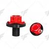 น็อตแผงคอ GTR สีแดง FOR KAWASAKI Z300/NINJA300