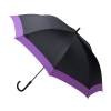 Waterfront Windproof Jumping Walking Umbrella ร่มยาวระบบออโต้เปิด กันยูวี ต้านลมแรง กระโดดข้าม - ม่วง