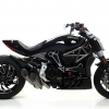 ท่อ ARROW TWIN TITANIUM FOR DIAVEL X
