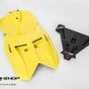 อัลเดอร์เทล MOTOZAAA ดำเหลือง FOR KAWASAKI ER6N