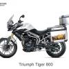 ปี๊บบน พร้อม เพลท K2 PRO 28L, 40L FOR Triumph Tiger 800