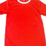 ไซส์ S รอบอก 32 นิ้ว เสื้อกีฬาสีแดง เสื้อกีฬาเปล่าผู้ใหญ่ เสื้อเปล่า