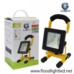 สปอร์ตไลท์ LED 10w รุ่นTGD-005ชาร์ตแบตได้ ยี่ห้อ Iwachi (แสงขาว)