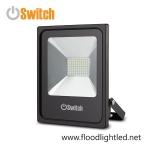 สปอร์ตไลท์ LED 50w รุ่น SMD ECO ยี่ห้อ Switch (แสงขาว)