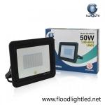 สปอร์ตไลท์ LED 50w รุ่นบาง ยี่ห้อ Iwachi (แสงขาว)