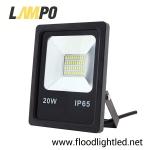 สปอร์ตไลท์ LED 20w รุ่นFIT ยี่ห้อLAMPO (แสงส้ม)