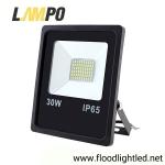 สปอร์ตไลท์ LED 30w รุ่นFIT ยี่ห้อLAMPO (แสงส้ม)