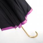 16 Ribs Windproof Lady Walking Umbrella ร่มยาว ต้านลมแรง 16ก้าน สุภาพสตรี - ม่วง