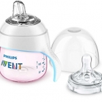 Philips Avent My Natural Trainer Cup, Pink, 5 Oz, Stage 1 (4 months+)