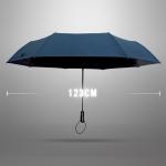 Ultra Size Black UV Coating Auto Umbrella ร่มออโต้เคลือบยูวีสีดำ กันแดด กันยูวี 100% ขนาดใหญ่ - กรมท่า