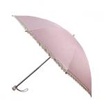 UV cut 100% Lady Lace Folding Umbrella ร่มพับ กันยูวี100% ลายลูกไม้สุภาพสตรี - ชมพู