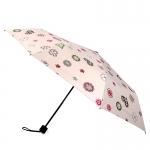 Love Flower UV Folding Umbrella ร่มพับ 3 ตอน เคลือบเงิน กัน uv ความรักดอกไม้ชมพู