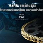 ค่ายส้อมเสียง Yamaha รุ่นไหน โซ่สเตอร์เบอร์อะไร เช็คกันได้เลย!