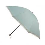 UV cut 100% Lady Lace Folding Umbrella ร่มพับ กันยูวี100% ลายลูกไม้สุภาพสตรี - เขียว