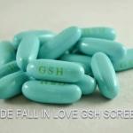 JADE FALL IN LOVE GSH SCREEN สินค้านำเข้า ของแท้ 100% ค่ะ (จำนวน 30 เม็ด)