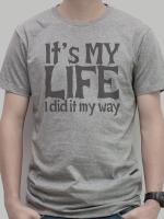 เสื้อยืด : It's my life สีเทา