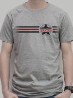 เสื้อยืด : Wanted 3 stripe สีเทา