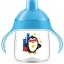 Philips Avent My Penguin Sippy Cup 9oz, Stage 2 Blue (6 months+) thumbnail 1