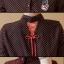 เสื้อคลุมท้องแฟชั่น สีดำแดง thumbnail 5