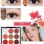 Novo smooth eyeshadow palette 9 color อายแชโดว์ พาเลททาตา 9 ช่อง thumbnail 5