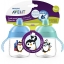 Philips Avent My Penguin Sippy Cup 9oz, Stage 2 Blue / Green (6 months+) แพคคู่สุดคุ้ม thumbnail 5