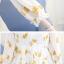 ชุดคลุมท้องผ้าชีฟอง สีครีมลายดอก thumbnail 7