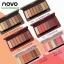 (ใหม่/ของแท้)โนโว Novo Smooth Eyeshadow Palette อายแชโดว์ พาเลท 8 สีในตลับเดียว thumbnail 1