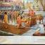 พุทธประวัติ. History of Buddha ได้รวบรวมเป็นสมุดภาพประกอบคำอธิบายนี้ เป็นสมุดภาพจิตรกรรม เรื่องพระบรมศาสดาสัมมาสัมพุทธเจ้าศากยโคดม มีภาพประกอบจำนวน 81 ภาพ thumbnail 24