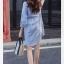 เสื้อคลุมท้องแฟชั่น สีฟ้า thumbnail 4