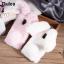 เคสซัมซุง a8 2018 เคสนิ่มขนกระต่ายฟูน่ารักมุ้งมิ้ง thumbnail 4