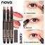 โนโวNOVO StereoTwo Color Silky Eye Shadow รุ่นใหม่มีฟองน้ำเบลนสี อายแชโดว์ทูโทน thumbnail 1