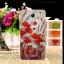 เคส wiko jerry2 วัสดุtpuนิ่มลายดอกไม้สีแดง thumbnail 1