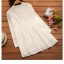 เสื้อคลุมท้อง สีขาว แขนยาว thumbnail 2