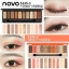 Hot สุดๆ( แบบใหม่/ของแท้) โนโว novo play color eyes eyeShadow พาเลทอายแชโดว์โทนสีหวานๆ สไตล์ดอกซากุระ house อายแชโดว์ thumbnail 2