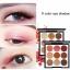 Novo smooth eyeshadow palette 9 color อายแชโดว์ พาเลททาตา 9 ช่อง thumbnail 2