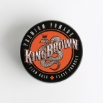 King Brown Firm Hold Premium water-based pomade (2.5 oz)